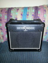 Behringer guitar amp in Perry, Georgia