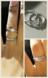 2 piece diamond wedding ring and band in San Diego, California