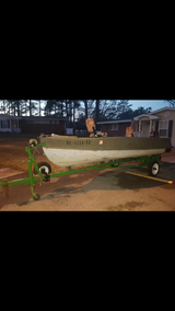 14 Ft boat with trailer clean titles in Wilmington, North Carolina