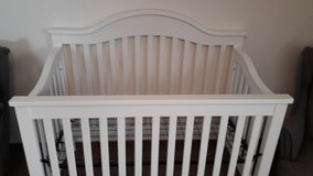 Jayden Baby Crib (White) in Grafenwoehr, GE