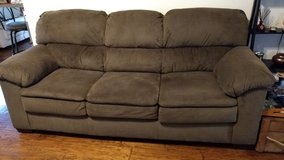 Simmons Sofa in Brown in Fort Rucker, Alabama