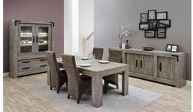 Montebaur Dining Set - China + Table + 4 Chairs including delivery in Ansbach, Germany