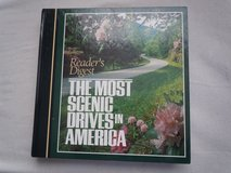 THE MOST SCENIC DRIVES IN AMERICA BOOK in Moody AFB, Georgia