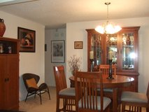 Dinning Room Table and Hutch in Fort Lewis, Washington