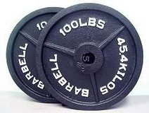 Weights 100lb gym grade in Temecula, California