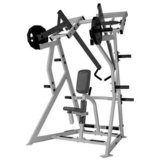 Gym machine back row with floor matt and weights 100lbs Hammer Strength in Temecula, California
