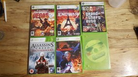 X box 360 games in Lakenheath, UK