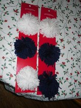 2 pks new pompom gift bows in Glendale Heights, Illinois