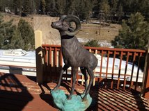 65in Bronze Rocky Mountain Bighorn Sheep Ram statue. in Alamogordo, New Mexico