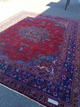 100% hand knotted rug in Camp Lejeune, North Carolina