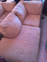 Tan L shaped sectional in Fort Irwin, California