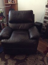 Dark Brown leather recliner in Vacaville, California