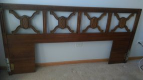 King or 2 twin headboard in Aurora, Illinois