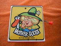 "Rare tin  metal 1971 MATTEL ""Mother Goose"" Jack-in-the-Box, tin litho Toy in Yucca Valley, California"