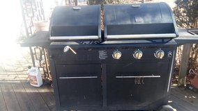 Kenmore double grill gas and charcoal in Joliet, Illinois