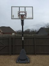"Spalding NBA 54"" Acrylic Portable Basketball Hoop in Huntsville, Alabama"