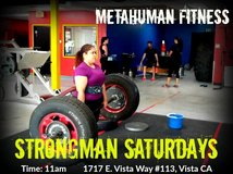 Strongman is for everyone. Join us this Saturday! in Camp Pendleton, California