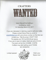 Crafters Wanted in Joliet, Illinois