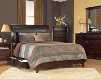 "30-50% OFF RETAIL!! ""M-INTERNATIONAL"" QUEEN STORAGE BED SET! in Camp Pendleton, California"