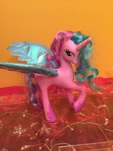 Princess Celestia talking little pony in Morris, Illinois