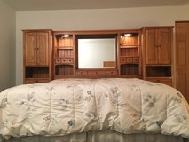 King Headboard with shelves in Aurora, Illinois