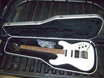 1986 White Charvel Model 4 Guitar - VERY NICE! in Perry, Georgia