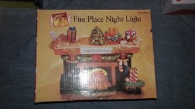 Fireplace night light in Clarksville, Tennessee