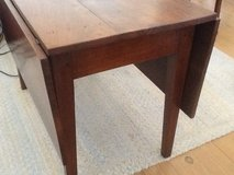 Cherry drop leaf dining table in Beaufort, South Carolina