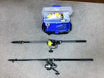 Rod & Reels with Tackle Box in Okinawa, Japan