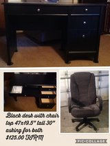 Desk with chair in Joliet, Illinois