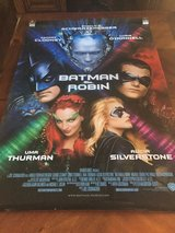 "1997 Original ""Batman and Robin"" Movie Poster - 27"" x 40"" in Glendale Heights, Illinois"