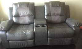 Loveseat with console in Bellaire, Texas