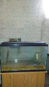 40 gallon aquarium with accessories in Sandwich, Illinois