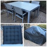 IKEA Falster Patio Outdoor Set w/ Cover & Chair Pads Cushions in Elgin, Illinois