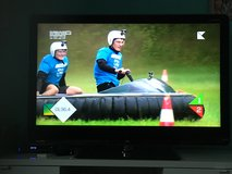 "SHARP AQUOS 46"" LED TV 110-220 VOLTS in Ramstein, Germany"