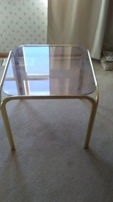 Glass coffee table in Batavia, Illinois