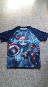 Capt America T-Shirt - NEW in Camp Lejeune, North Carolina