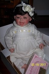 "Fayzah Spanos collectible vinyl doll ""Tickled Pink with Mommy's Pearls"" in Columbus, Georgia"