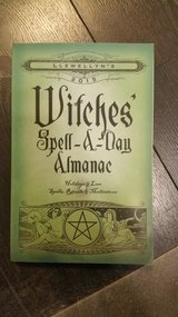 Witches spell a day book in Lakenheath, UK