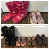 Girls shoes & Gymboree boots sizes 11 & 12 in Perry, Georgia