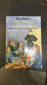 The twins at St cares book in Lakenheath, UK