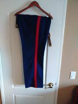 Dress Blues Trousers 35R w/ Blood stripe in Lake Elsinore, California