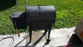 Traeger smoker in San Ysidro, California