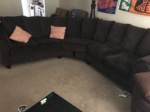 Brown sectional in Hinesville, Georgia