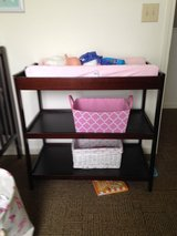 Changing table with pad in Watertown, New York
