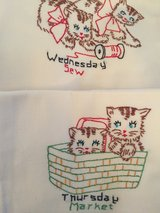 Kitten dish towels in Glendale Heights, Illinois