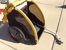 Burley bike trailer in Plainfield, Illinois