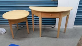 Matching End Table and Side Table Set in Temecula, California
