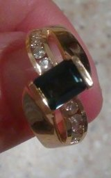 Stunning gold with diamonds ring! in Lake Elsinore, California