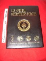 U.S. SPECIAL OPERATIONS FORCES LEATHER BOUND BOOK SPONSORED BY THE SPECIAL OPERATIONS WARRIOR FO... in Perry, Georgia